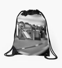 locks at lake Drawstring Bag