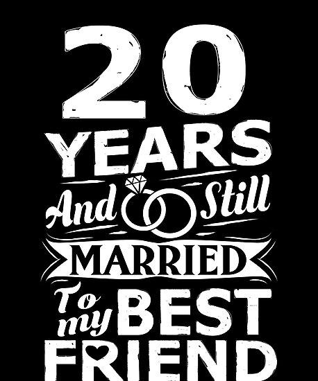 20 Hochzeitstag Lustig Verheiratet Mit Dem Besten Freund