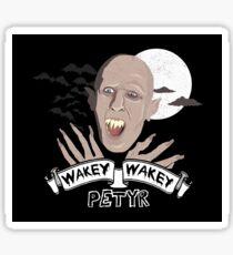 Wakey Wakey Petyr Sticker