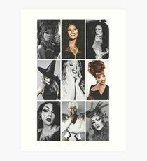 RuPaul's Drag Race Winners  Art Print