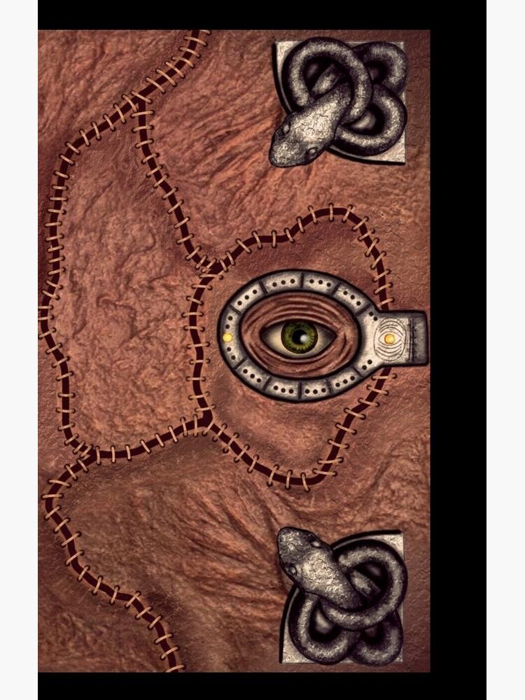 The spell book by Tarajillian
