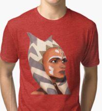 ahsoka tano version II Tri-blend T-Shirt