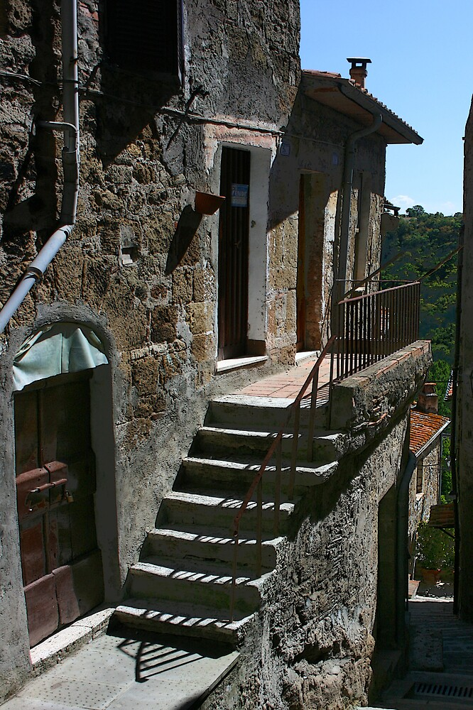 Tuscan stairs by William Mason