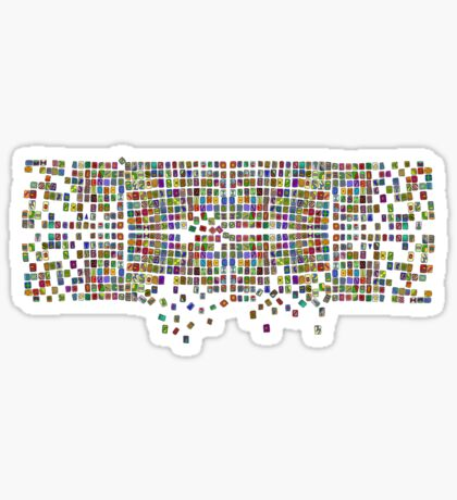 Broken Pattern Sticker