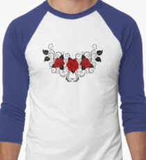 Symmetrical Pattern of Red Roses (without a shadow) T-Shirt