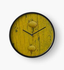 Yellow Button Two Clock