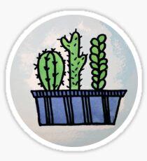 Watercolor Cacti Sticker
