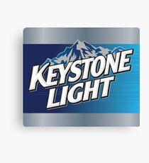 Keystone Light Canvas Print