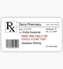 Gazebo Pills Sticker