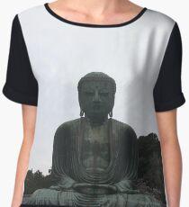 Great Buddha Japan Women's Chiffon Top