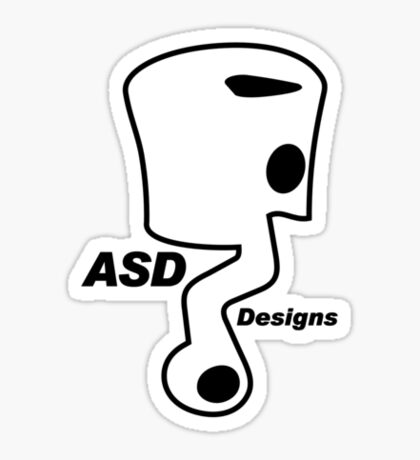 ASD - Anthony Scooter Designs Sticker