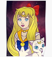 Sailor Venus and Artemis Poster