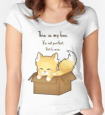 This Is My Box Women's Fitted Scoop T-Shirt