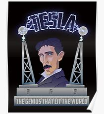 Tesla -The Genius That Lit The World Poster