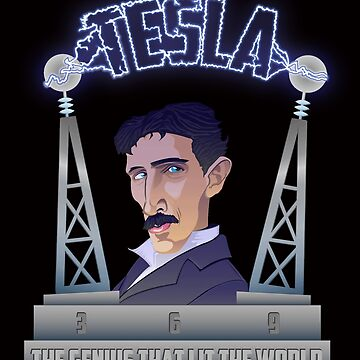 Tesla -The Genius That Lit The World by ArtiStickFigure