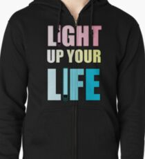 Light Up Your Life Zipped Hoodie