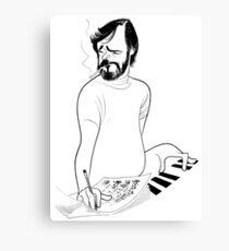 Stephen Sondheim Sketch Canvas Print