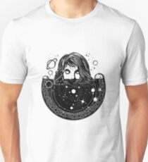 Woman in space T-Shirt