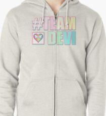 #TEAMDEVI (Rainbow) Zipped Hoodie