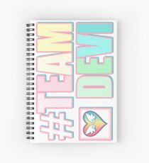 #TEAMDEVI (Rainbow) Spiral Notebook