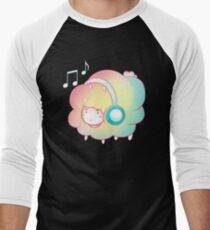 DJ Rainbow Sheep Men's Baseball ¾ T-Shirt