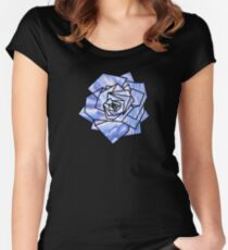 Geometrics: Rose (Sampled StarryNight Omage) Geometry Women's Fitted Scoop T-Shirt