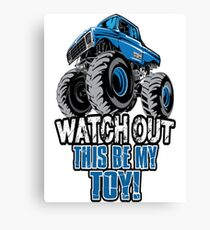 Monster Truck Toy Canvas Print
