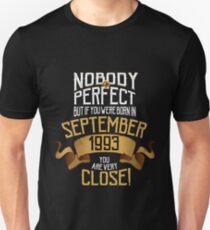 1993 September Birthday Gift - 24 Year Old BDay T-Shirt