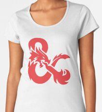 Dungeon And Dragons D&D Women's Premium T-Shirt