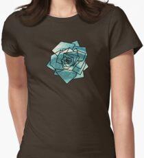 Geometrics: Rose (Sampled Eye) Geometry Women's Fitted T-Shirt