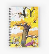 Calvin and Hobbes Mural Spiral Notebook