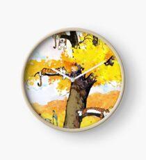 Calvin and Hobbes Mural Clock