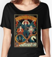 Sanderson Sisters Vintage Tour Poster Women's Relaxed Fit T-Shirt