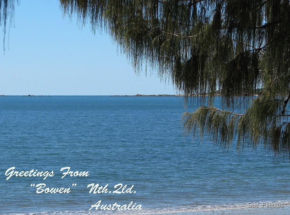 """""""Queens Beach"""" by Sue  Fellows"""
