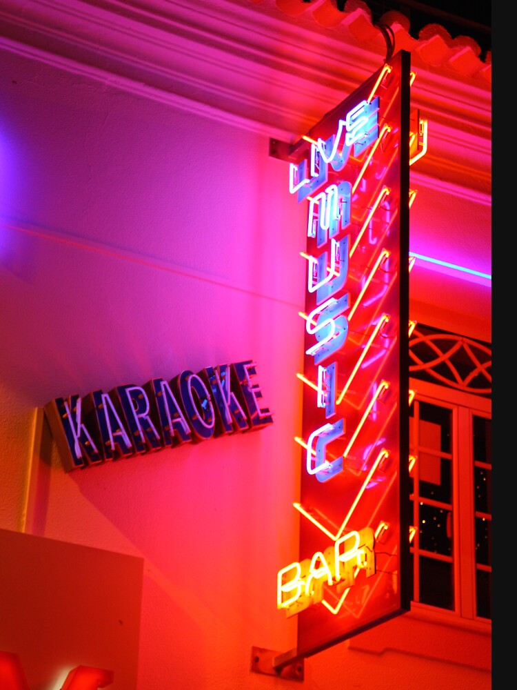 Karaoke Music Neon Sign Lights by robcole