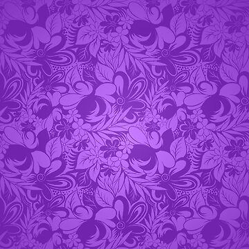 Purple Floral by dsgcreations