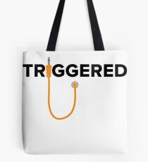 Triggered - modular (orange) Tote Bag