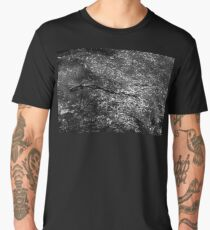 Stick in the Woods | Black and White Men's Premium T-Shirt