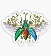 Jewel Stag Beetle Sticker
