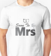 Soon To Be Mrs Bachelor Party Bride Team wedding T-Shirt