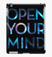 OPEN YOUR MIND, Galaxy, Space, Universe, Star iPad Case/Skin