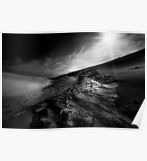 Sand Dune at Wilsons Promontory Poster