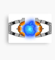 The Autobot Apple Matrix of Leadership (White background) Canvas Print