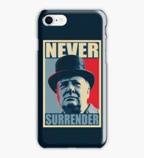 NEVER SURRENDER iPhone Case/Skin