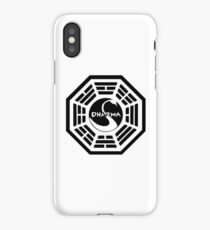 The Dharma Initiative - The Swan Station iPhone Case/Skin
