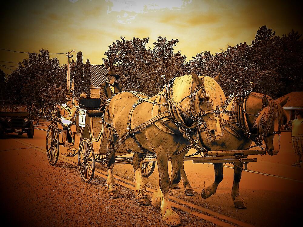 Riding In Style by Gene Cyr