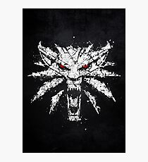 The White Wolf Photographic Print
