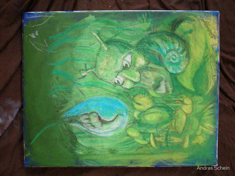 snail by Andras Schein