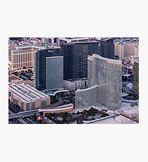 Aria Hotel Campus, Las Vegas, Nevada, USA Photographic Print