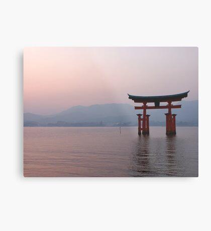 Sunrise at Miyajima Metal Print